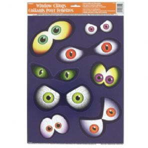 Halloween Spooky Eyes Window Clings